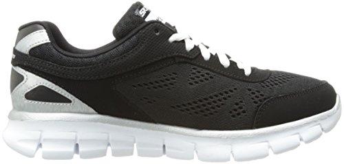 Skechers Synergy - Zapatillas de deporte, Niños Negro (BKW)
