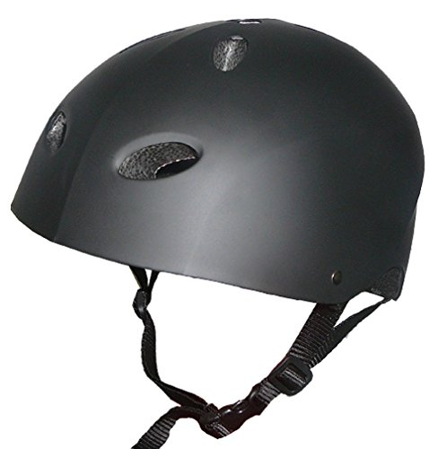 Dobar Multi Sports Certified BMX Bike Helmet – Child, Youth, Adult Sizes (Black, Medium) For Sale
