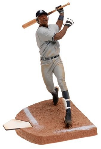 MLB Series 8 Figure: Alfonso Soriano with Gray Yankees Jersey