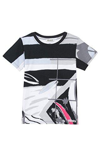 KENZO Big Boys' Multi Color T-shirt -8 -BLACK