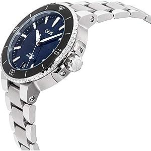 Oris Aquis Reloj de Mujer automático 37mm Correa de Acero 01 733 7731 4135-MB 2