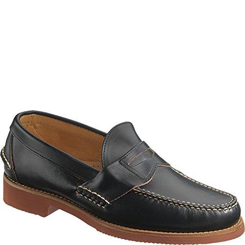 Sebago Menns Barton Klassiske Tilfeldige Loafers Chromexcel Svart