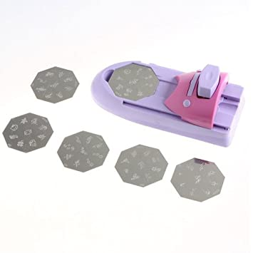 Nail Art DIY Printer Printing Pattern Stamp Manicure Machine Stamper Set Kit