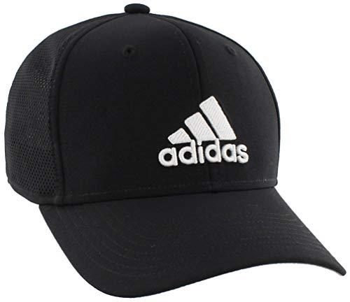 adidas Mens Adizero Scrimmage Stretch Fit, Black/White, S/M