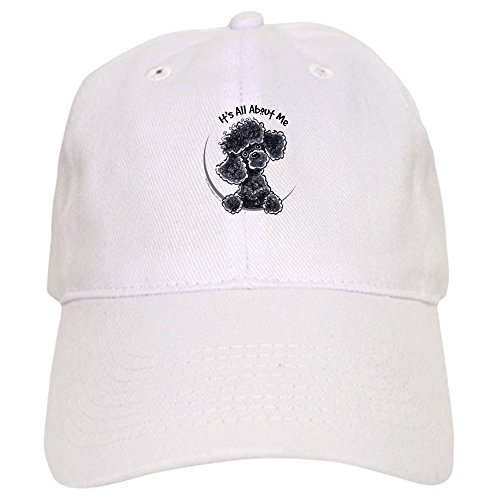 CafePress - Black Poodle Lover Cap - Baseball Cap with Adjustable Closure, Unique Printed Baseball (Poodle Black Magnet)