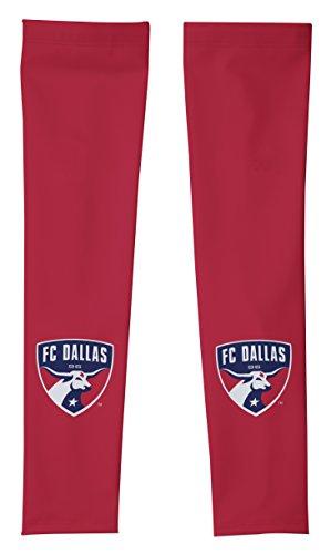 MLS FC Dallas Arm Warmers, Large, Red (Mls Vomax Dallas)
