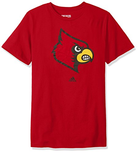 ouisville Cardinals Primary Logo Short Sleeve Tee - Large ()