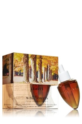 Bath and Body Works Leaves Wallflower Refill 2 Bulbs