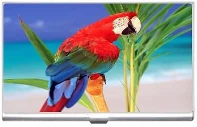 New Parrot Business Credit Card Holder Case