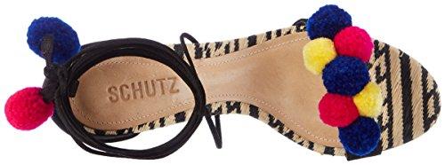 SCHUTZ S2-00010092 - Tira de tobillo Mujer Schwarz (Black)
