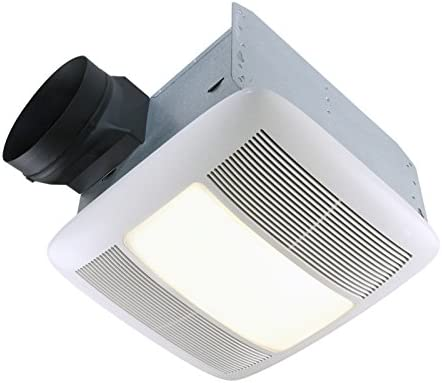 Amazon Com Nutone Qtxen110flt Energy Star 110 Cfm 6 Ducting Bathroom Exhaust Fan Home Kitchen
