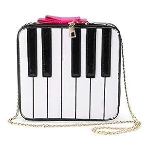 2d591dbf Dabixx Mochila Mujer, para Mujer, Linda Forma de Piano, Bandolera ...