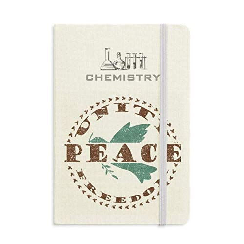 Olive Branch Peace Freedom Symbol Chemistry Notebook Classic Journal Diary A5