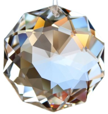 Set de Rieser® premium-kristall: Pendule en cristal - DAHLIA 38mm original de SWAROVSKI ELEMENTS - Feng Shui