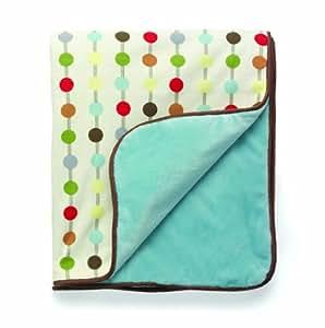 Skip Hop Reversible Plush Blanket, Mod Dot (Discontinued by Manufacturer)