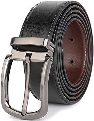 Split Leather Belt 1.3wide For Man Dress /& Clip Buckle
