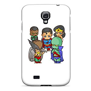 Protective Tpu Case With Fashion Design For Galaxy S4 (justice League)