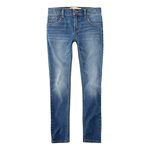Levi's Boys' Toddler 519 Extreme Skinny Fit Jeans, Por Vida, 2T (Levi Shorts 2t Boys)