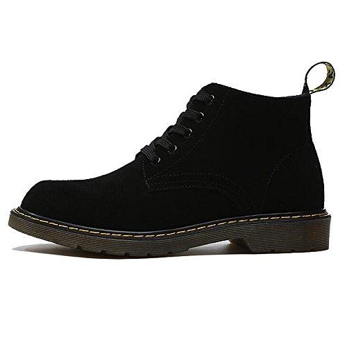Leather Dress Schwarze A Mode Rutschen Herbst Business Hochzeit Shoes Casual Stiefel Mens 7tdxqRwFF