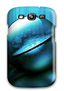 FeTaHzD186mCeOC Case Cover Protector For Galaxy S3 Green Ball Case