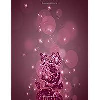Journal: Premade Dot Grid Bullet Notebook Dotted Planner | Undated Calendar Year Format Burgandy Floral
