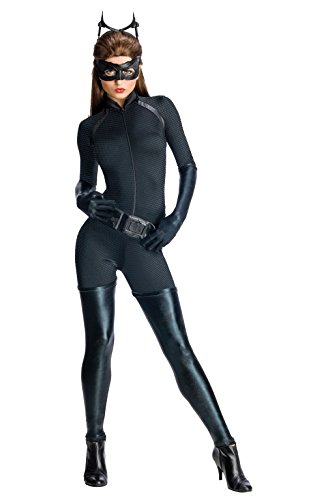 Secret Wishes Dark Knight Rises Adult Catwoman Costume, Black, X-Small (Batman Black Knight Rises)