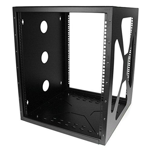 (StarTech.com 12U Sideways Wall-Mount Rack for Servers - Side-Mount Server Rack for Easy Access)
