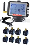 RV Flow-Thru Sensor 8 Tire Tire Pressure Monitoring System (TPMS)