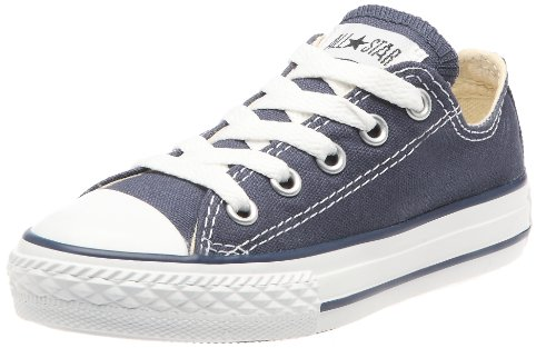 Converse Kids Unisex Chuck Taylor All Star Core Ox (Infant/Toddler) Navy Sneaker 8 Toddler M (All Star Converse Kids)