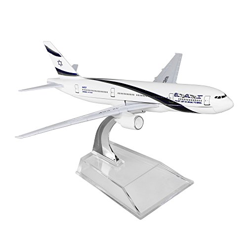 Israel Boeing 777 16cm Metal Airplane Models Child Birthday Gift Plane Home Decoration