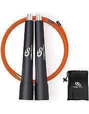 Coresteady Speed Rope - Verstelbare Pro Springtouw - Ideaal voor vetverbrandingsoefeningen, HIIT-training, Crossfit, MMA, boksen, conditie en gewichtsverlies