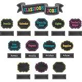 #6: Teacher Created Resources Chalkboard Brights Classroom Jobs Mini Bulletin Board