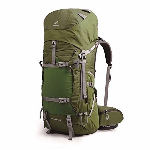 Outdoor Rucksack schultern Klettern große Taschen , Army Green ,70 l