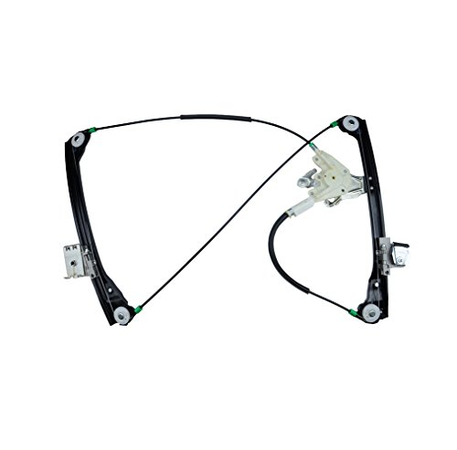 A-Premium Power Window Regulator without Motor for BMW E46 323Ci 325Ci 328Ci 330Ci M3 2000-2006 Coupe Convertible Front Right Passenger Side