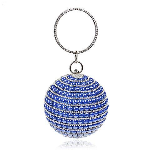 Bolso UYHB435 Azul para al multicolor Multicolor hombro mujer BESTWALED 5 4TBxU4q