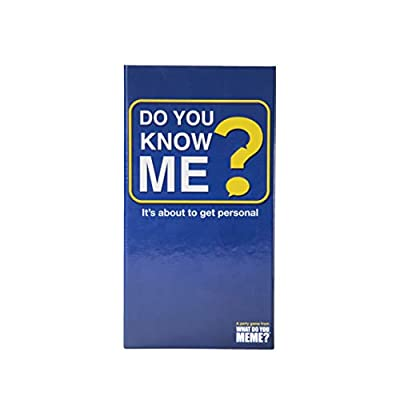 Do You Know Me? Adult Party Game by What Do You Meme?: Toys & Games
