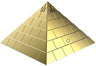 JASZHAO - Mini purificador de Aire con Forma de pirámide para Coche y Oficina: Amazon.es: Hogar