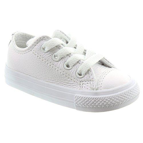 Converse Ctas OX White, Zapatillas Unisex Niños White/white