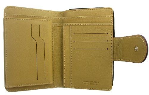 Patchwork Grande Spain design monnaie in Femme Porte Portefeuille Zipper Handmade Patchwork Cuir Véritable Lila Capacite UWvAZq