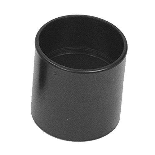 "Flexaust 233 Tuec Plastic Hose Connector for 2.25"" Vacuum Hose, 2.5"" Length, Black (Pack of 5)"
