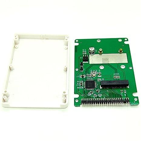mSATA mini PCI-E SATA SSD a 2,5 IDE 44pin Notebook portátil disco ...