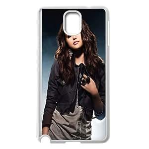 Unique Design -ZE-MIN PHONE CASE For Samsung Galaxy NOTE4 Case Cover -Beautiful Selena Gomez Pattern 2
