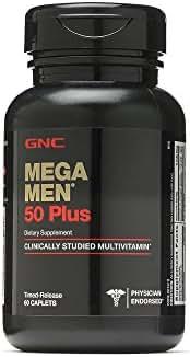 GNC Mega Men 50 Plus 60 Caplets