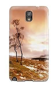 Galaxy Note 3 Hard Back With Bumper Silicone Gel Tpu Case Cover Glen Esk Scotland