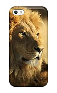Premium Tpu The Male African Lion Cover Skin For Iphone 5/5s 4308481K44607126