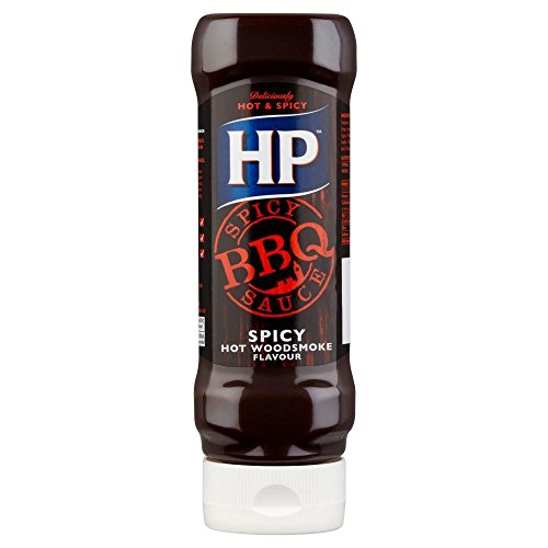 HP BBQ Spicy Top Down Sauce - 470g - Pack of 2