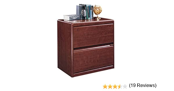 Amazon.com : Sauder Cornerstone Lateral File Classic Cherry : Horizontal File  Cabinet : Office Products