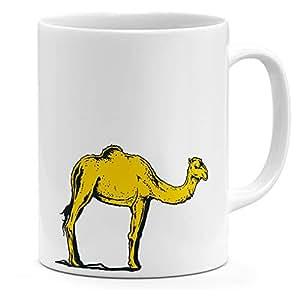 Loud Universe Ceramic Desert Camel Mug, White