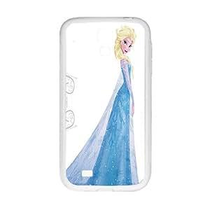 Frozen Queen Elsa White Phone Case for Samsung Galaxy S4