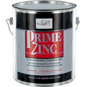 PRIME ZINC Cold Galvanizing Compound, 1 Gal : Amazon com
